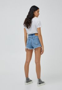 PULL&BEAR - Denim shorts - dark blue - 2
