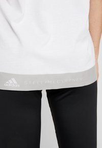 adidas by Stella McCartney - LOGO TEE - Print T-shirt - white - 4