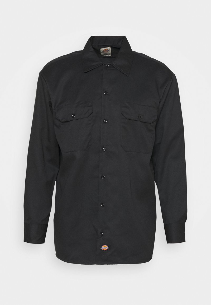 Dickies - LONGSLEEVE WORK  - Shirt - black
