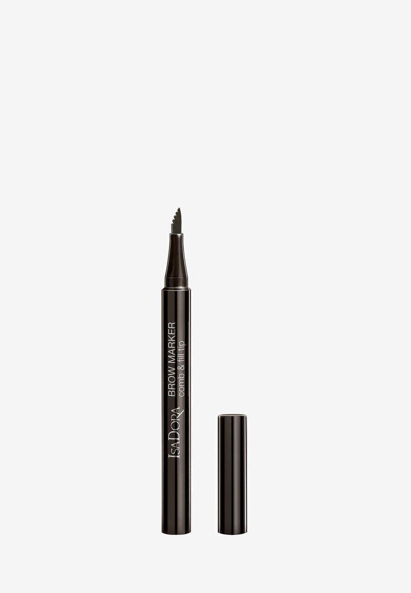 IsaDora - BROW MARKER - Eyebrow pencil - ash brown
