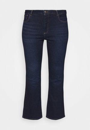 JPOSH LONG ELLEN  - Jeans bootcut - dark blue denim