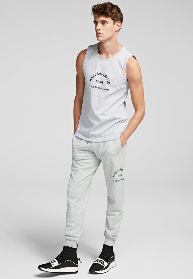 RUE ST GUILLAUME - Teplákové kalhoty - grey melange