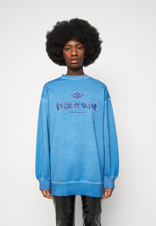 RELAXED CREW - Sweater - faded blue