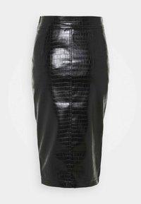 Liu Jo Jeans - GONNA LONGUETTE CASTERLY - Kokerrok - nero - 1