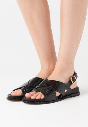 HENIKA - Sandals - noir