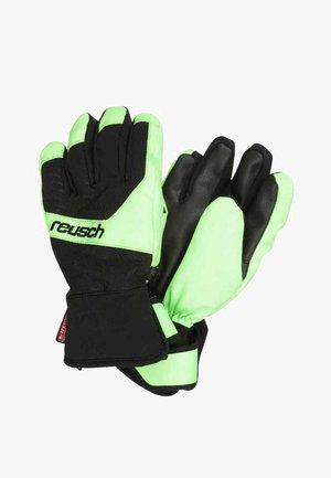 TORBENIUS R-TEX JUNIOR - Handschoenen - black/neon green
