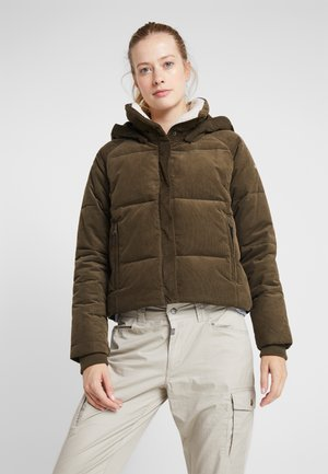 RUBY FALLS JACKET - Down jacket - olive green