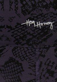 Hey Honey - BIKER  - Tights - anthrazit - 5