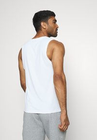 Nike Performance - TANK DRY - Sports shirt - white/black - 2