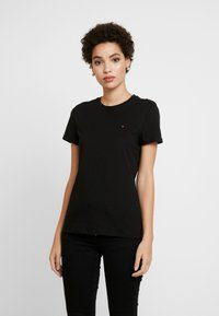 Tommy Hilfiger - T-shirt basic - black - 0
