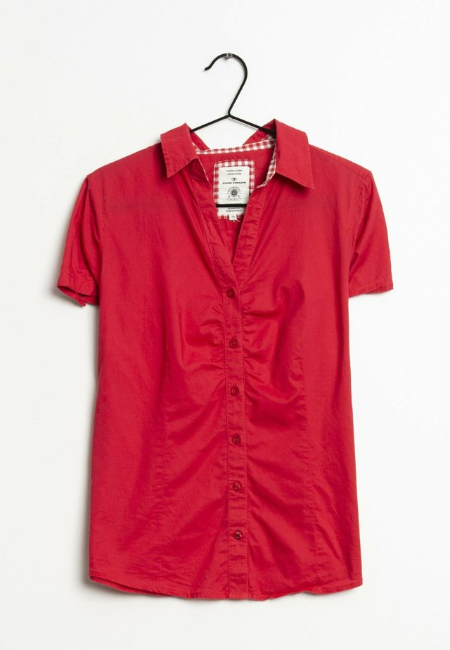 Overhemdblouse - red