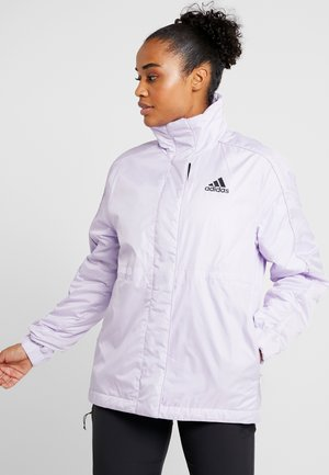 INSULATED OUTDOOR FILLED THIN JACKET - Winter jacket - purple
