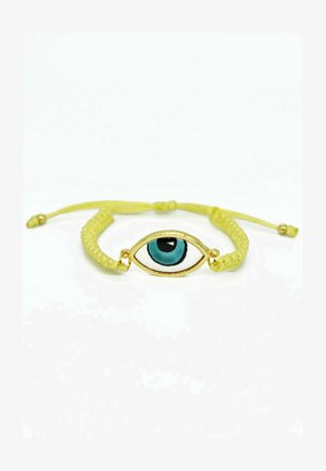 TRADITIONAL TURKISH EVIL EYE SHIELD - Armband - evil eye gold