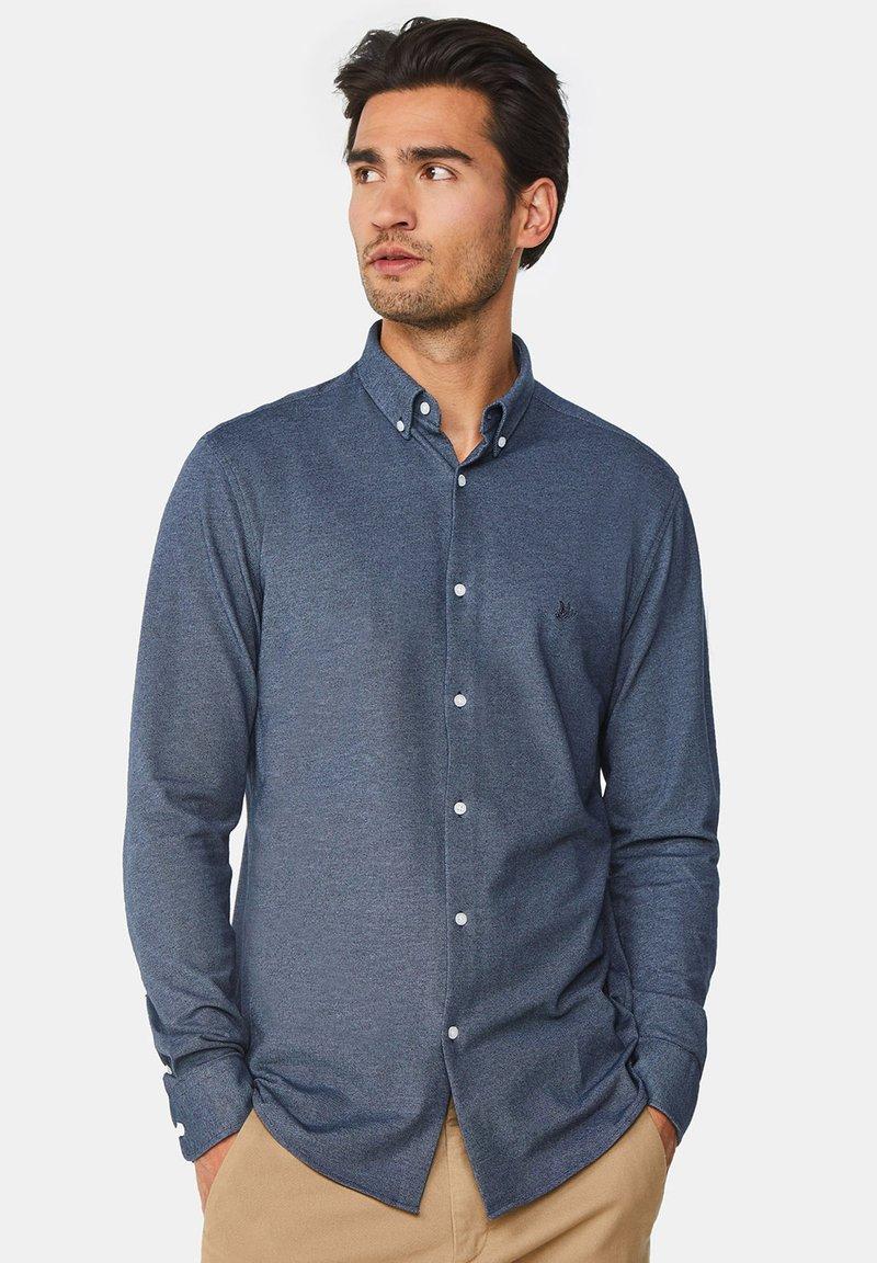 WE Fashion - SLIM FIT - Camicia - dark blue