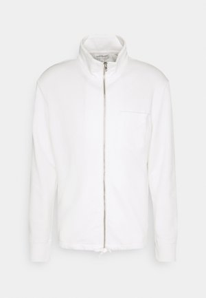 ZIP TERRY CARDIGAN - Felpa aperta - white