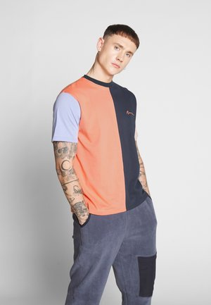 VERTICAL PANELLED - T-shirts print - multi-coloured