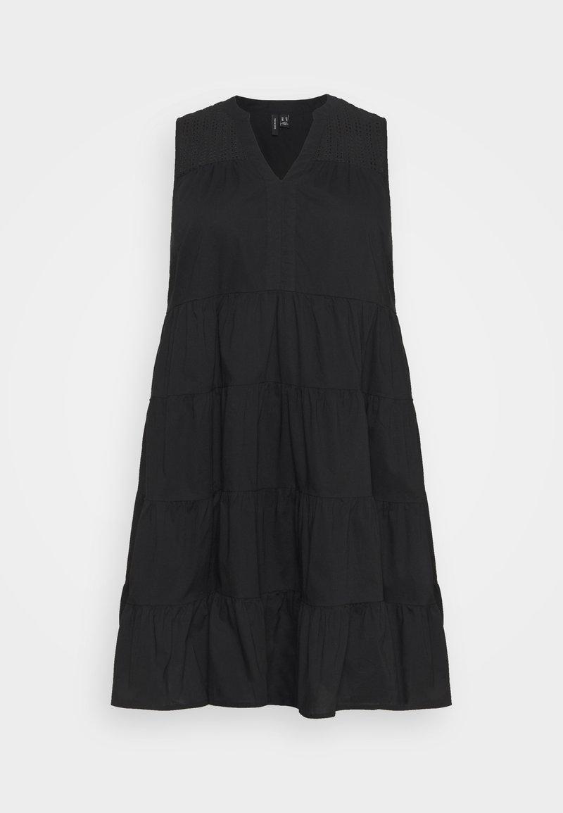 Vero Moda Curve - VMLORETTA DRESS - Day dress - black