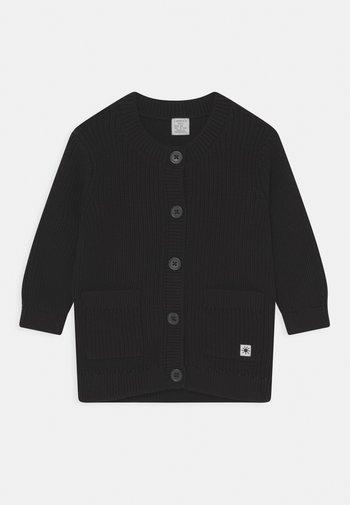 UNISEX - Cardigan - off black