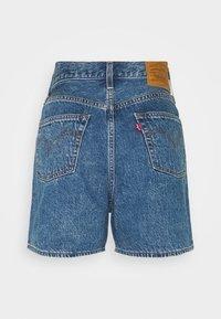 Levi's® - PLEATED - Denim shorts - blue denim - 6