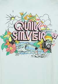 Quiksilver - INFORMAL DISCO - T-shirt con stampa - blue tint - 2