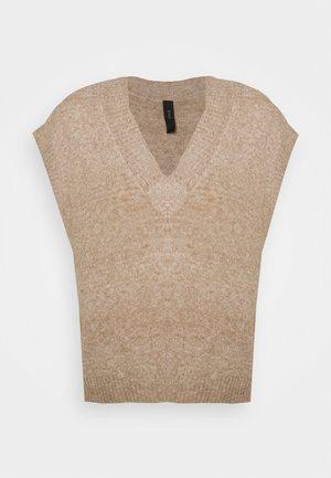YASLOLA GILET - Print T-shirt - hemp