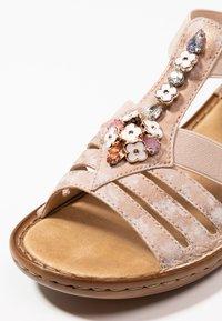 Rieker - Sandals - rosa - 2