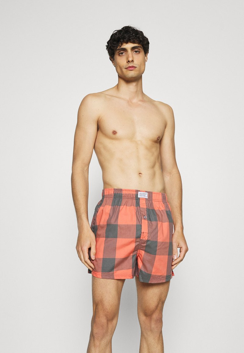 Levi's® - MEN CHECK 2 PACK - Boxer shorts - red