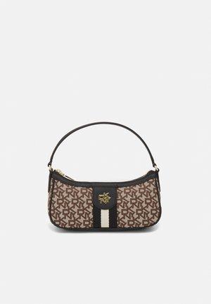 CAROL BAGUETTE - Handbag - chino/black
