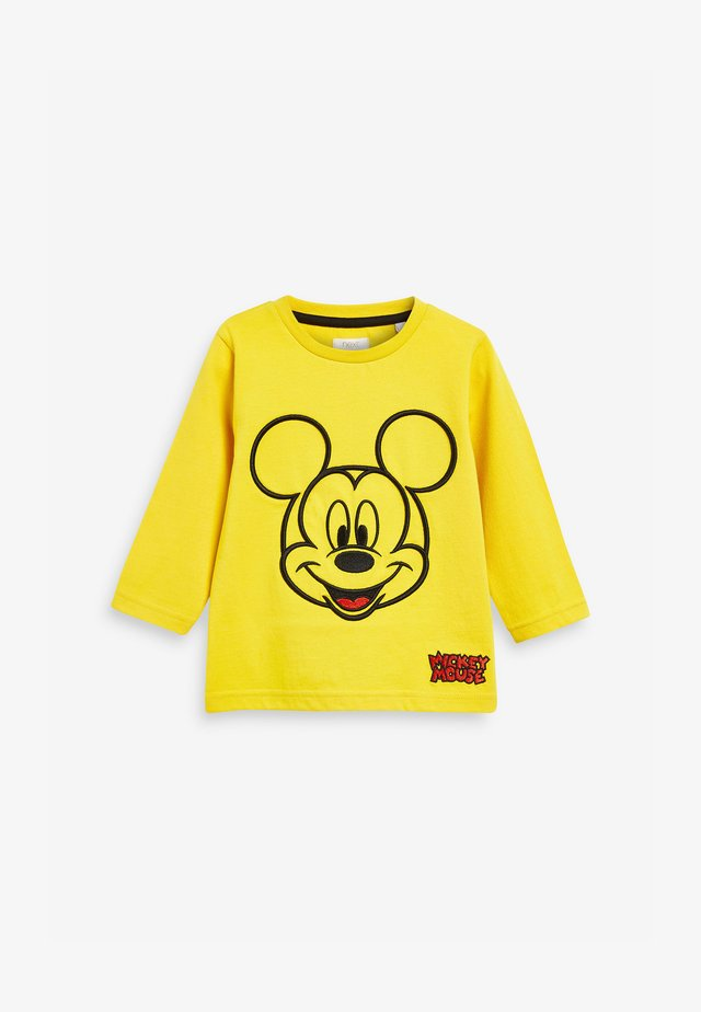 MICKEY MOUSE  - Long sleeved top - yellow