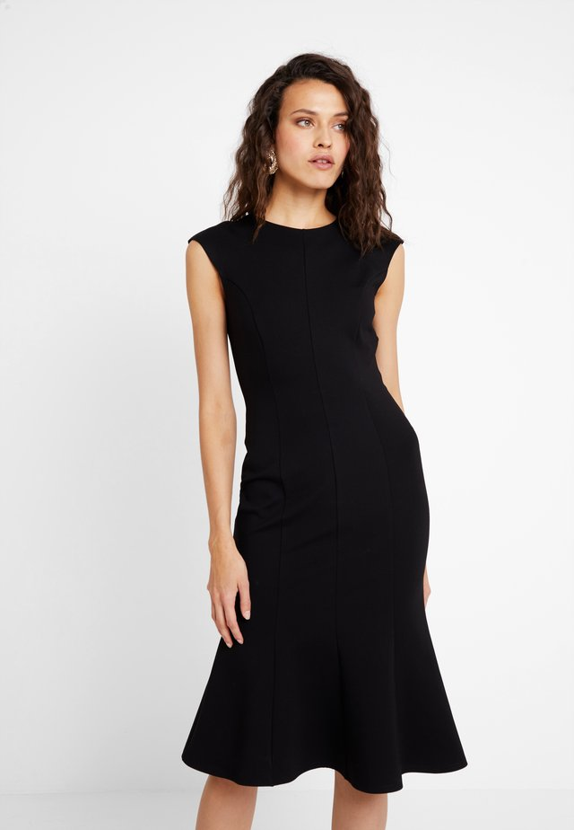 CLOSET PRINCESS SEAM DRESS - Cocktail dress / Party dress - black