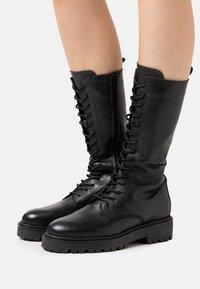 Zign - Lace-up boots - black - 0
