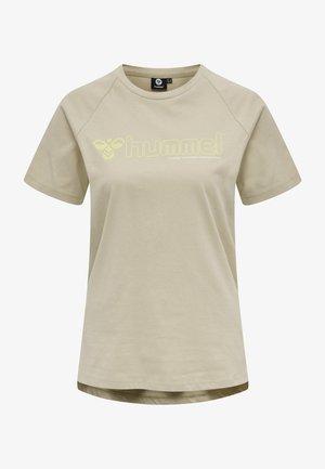 HMLZENIA  - Print T-shirt - humus