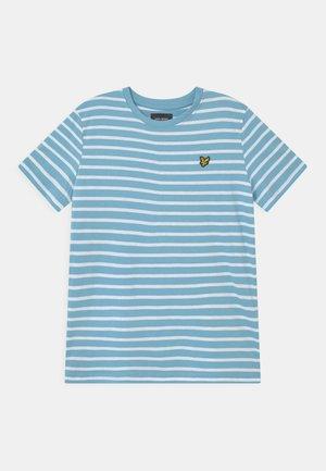 BRETON - Print T-shirt - sky blue
