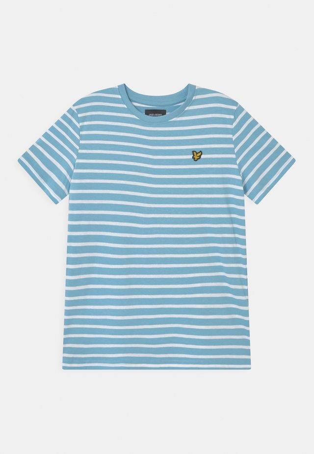 BRETON - T-shirt print - sky blue