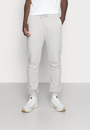 ESSENTIAL SLIM FIT JOGGERS - Tracksuit bottoms - grey marl