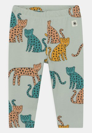LEO UNISEX - Leggings - Trousers - light aqua