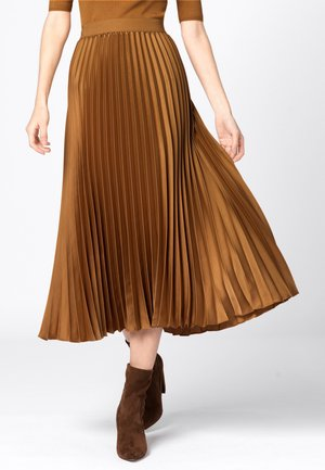 A-line skirt - curry