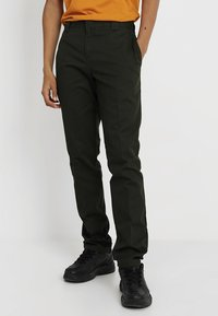 Dickies - 872 SLIM FIT WORK PANT  - Chinot - olive green - 0