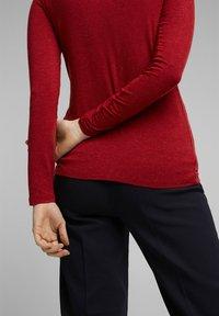 Esprit Collection - Jumper - dark red - 4