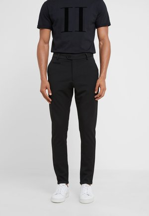 SUIT PANTS COMO - Tygbyxor - black