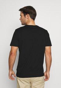 GAP - CREW 2 PACK - T-shirt basic - black - 2
