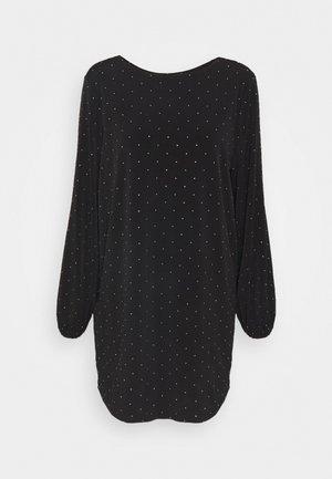SORAYA DRESS - Denní šaty - jet black