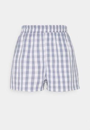 ELASTICATED WAIST - Shorts - blue