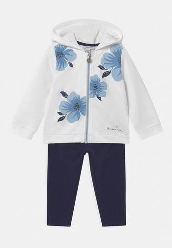 SET - Zip-up hoodie - bright white