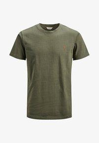 Jack & Jones - HOCHWERTIGES - Basic T-shirt - green - 5