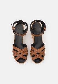 WEEKEND MaxMara - RITO - Platform sandals - kamel - 4