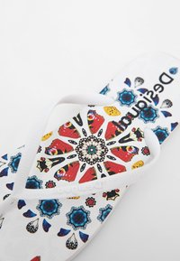 Desigual - BUTTERFLY - T-bar sandals - white - 6