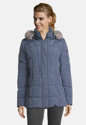 MIT ABNEHMBARER KAPUZE - Down jacket - china blue