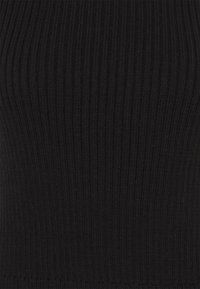 Monki - TEA  - Top - black dark unique - 2
