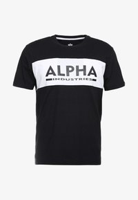 Alpha Industries - Printtipaita - black - 3